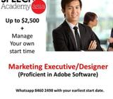 BE OUR MARKETING SPECIALIST - DESIGN OUR MARKETING MATERIAL