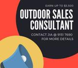 Outdoor Sales Consultant