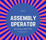 Full-Time Assembly Operator @ East [ Up to $2200 | 5 Days | Air Con | Bonus & Incentives ]