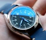 30mm Double Domed & Double Sided Blue AR Sapphire Crystal Custom Seiko Watch Mod Parts