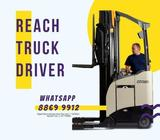 Reach Truck Driver @ Boon Lay ( Up to $2500 | Day or Night | Fast Hiring | Start Immediate )