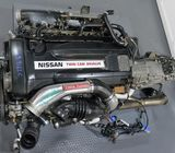 JDM Nissan Skyline R33 GTR Rb26det Engine with Twin Turbo, Harness, Ecu