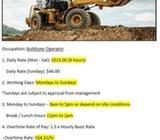 CONSTRUCTION OPERATOR (BULLDOZER OPERATOR)