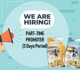 PART-TIME PROMOTER (3 DAYS PERIOD)