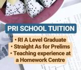 PRI SCHOOL ENG/MATH/SCI TUITION