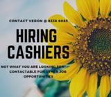HIRING FOR CASHIERS @ EAST/NORTH EAST REGION *ATTRACTIVE $$$*