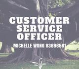 [Lavender MRT] Customer Service Officer   1800/mth   6 months contract