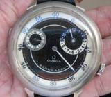 Omega manual wind wrist watch, Swiss Made, World War One Trench watch, Military grade, Regulateur