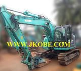 13 Ton SK125SR Kobelco Excavator For Sales For Rental LM Cert Piping Rubber Pads In Singapore