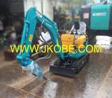 1 Ton Kubota U10-3 Super Mini Hydraulic Excavators with Hydraulic Breaker For Rental in Singapore