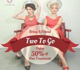 Two to go Beauty Treatment Promotion by J Studios Haji Lane