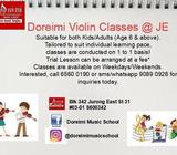 Violin Lessons in Jurong