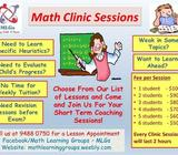 2019 Math Clinic Sessions (Primary 3 to 6)