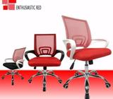 CCC001, Wayner Office Chair (Red),Computer Chair,CCC