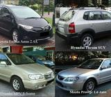 monthly car leasing / Rent a Car or SUV by the month - call 91018983