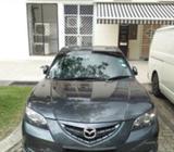 Mazda 3 Car Rental - Efficient & Sporty Car - Car Rental - Uber/Grab Ready!  Fuel Efficiency