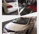 Honda Civic 1.8A Car Rental for Weekend Package / Uber & GrabCar / All Welcome - Promo $269/weekend