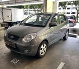 Kia Picanto 1.1L M for Car Rental -Fuel Efficient Uber & GrabCar Ready - from $45/Day