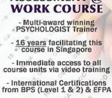 Psychometric Assessment at Work Public Course BPS Level 1 & 2 - Singapore (27 Feb to 5 Mar 2019)