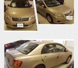 Toyota Axio Car Rental - Fuel Efficient - Personal Rental - Uber & GrabCar Friendly - 15km/l