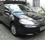 Toyota Altis For Rent !