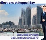 entral Singapore - 2 Bedrooms Condo for Rent - Luxurious Seafront Living - Reflections at Keppel Bay