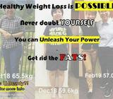 Tired of dieting, too much exercise, bounce back, slimming tea? 100% Weight Loss solution here!