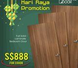 Hari Raya Promotion for Laminate Main Door