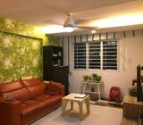 5S POINT BLOCK CORNER UNIT WITH 100% FULL UNBLOCKED GREENERY / CITY VIEW @