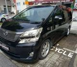 VELLFIRE MPV RENTAL ONLY @ JJGARAGE