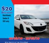 Budget Car for Rent - School Holiday Promo!!!