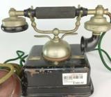 Vintage Telephone Display