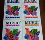 Piano music book