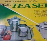 tea pot set stainless steel