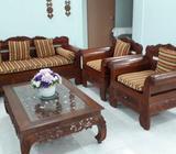 Teak Wood Sofa Seat