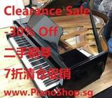 Used piano Clearance Sale -30% off, 22 sets only 0321