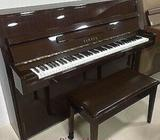 YAMAHA C108 used piano, brown color, made in Japan, used 10+ years 0321