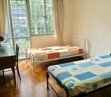 Master Bedroom With Attached Bathroom For Rent At Balestier(Ritz Mansion Condominium)---No Owner