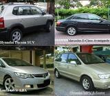 SUV rental, Car leasing, Van rental - call 62850020