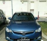 HONDA CIVIC 1.8A CAR RENTAL @ JJGARAGE