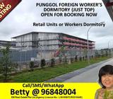 HURRY! NOT MANY DORMITORY ROOMS AVAILABLE, PUNGGOL - CALL 96848004