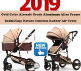 2019Brand New German design Wisesonle 4Air tyres baby stroller/pram/Offer/limited stock