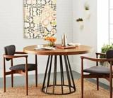 TSDTR001,Solid Wood Dining Table, Round Dining Table, Solid Wood Table,TSDTR, TSDT