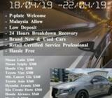 Budget Car for Rent - GooD Friday. Hurry! (18/04/19 - 22/04/19)