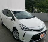 Toyota prius alpha for rent !! please visit us!