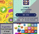 Lower Secondary Combined Science Tuition (all locations)