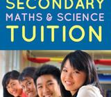 LOWER SECONDARY MATH & SCIENCE (free assessment book while stock lasts)