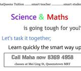 Be the Topper! Secondary Science & Maths Tuition-CBSE, IGCSE, IB Diploma, O, A Level, JC