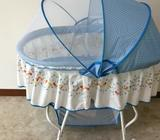 Movable cradle cum Rocker 0 -15 months baby/ selling at half price