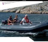 Inflatable looking boat